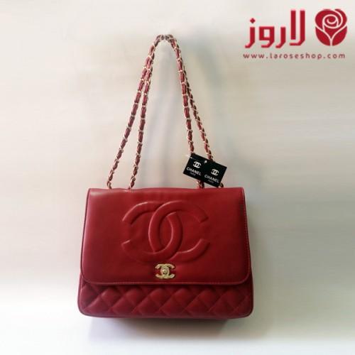 شنطة شانيل Chanel احمر مميزة