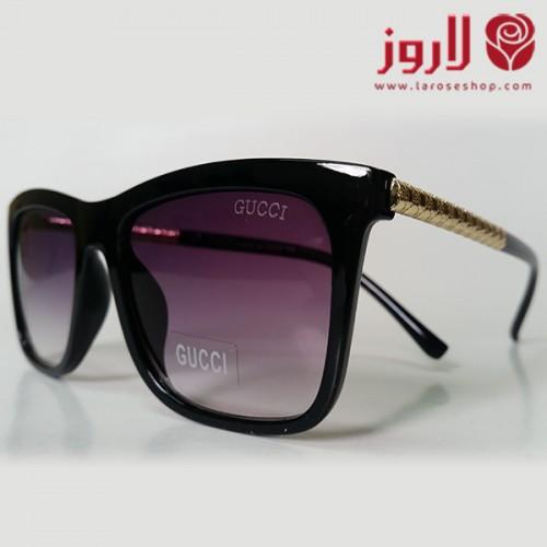 نظارة قوتشي Gucci اسود بإطار