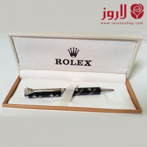 رولكس Rolex الاسود بعلامات رولكس