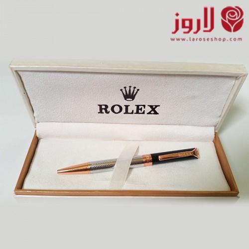 رولكس Rolex برونزي اسود وفضي