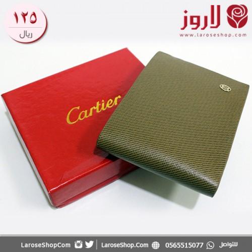 محفظة كارتير Cartier زيتي رائع