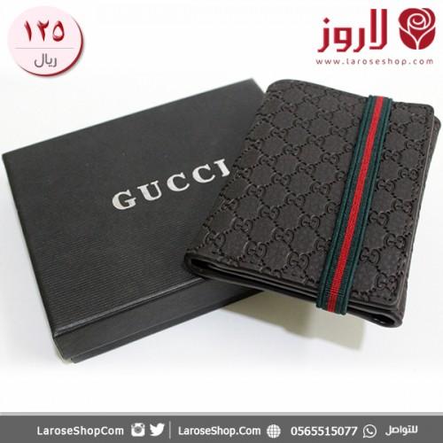 محفظة قوتشي Gucci اسود وألوان