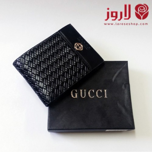 محفظة قوتشي Gucci رجالي اسود