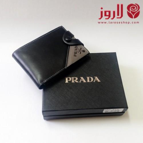 محفظة برادا Prada رجالي اسود