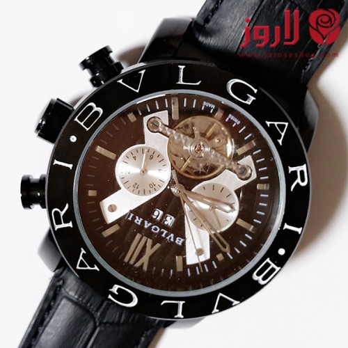 ساعة بلغاري Bvlgari رجالي اسود