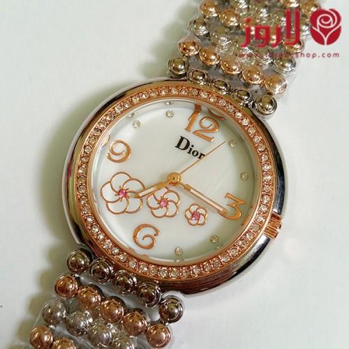 ساعة ديور Dior نسائي ذهبية
