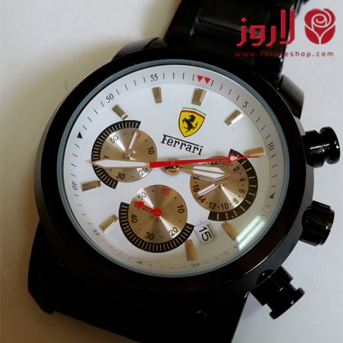 ساعة فيراري Ferrari رجالي الاسود