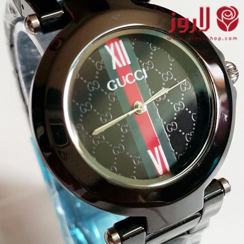 ساعة قوتشي Gucci اسود مميزة