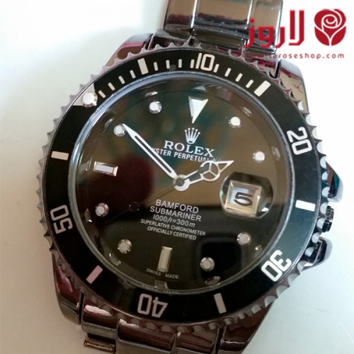 ساعة رولكس Rolex رجالي الاسود