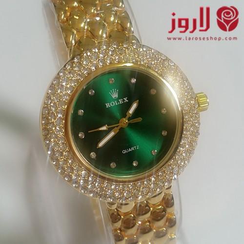 ساعة رولكس Rolex نسائي ذهبية