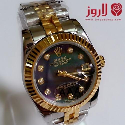 ساعة رولكس Rolex نسائي الذهبية