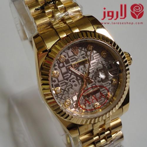 ساعة رولكس Rolex نسائي ذهبي