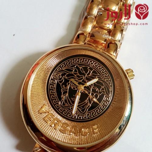 ساعة فرزاتشي Versace أناقة الذهبي