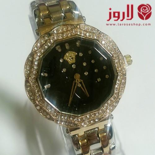 ساعة فرزاتشي Versace نسائي اسود