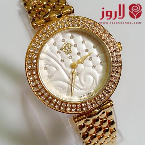 ساعة فرزاتشي Versace نسائي دائرة